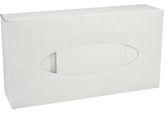 (P) Kosmetické kapesníčky 2 vrst. 100 ks-bílý obal