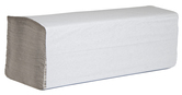 (P) Papírové ručníky ZZ 5000, recykl, 1 vrstva, šedé