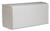 (P) Papírové ručníky ZZ, 2950 ks, celulóza, 2 vrstvy, bílé
