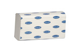 Papírové ručníky Interfold sklad W, 3125 ks, celulóza, 2 vrstvy, bílé, ECOLABEL