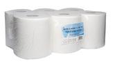 (P) Papírové ručníky v roli ALFA TOP pr.190, 6 rolí, 150 m, celulóza, 2 vrstvy, bílé