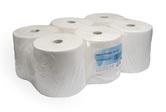 (P) Papírové ručníky v roli  AUTOCUT 140/21, 6 rolí, celulóza, 2 vrstvy, bílé