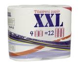 (P) Toaletní papír malý XXL, 48 rolí, celulóza, 2 vrstvy, 500 útr., bílý