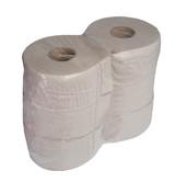 Toaletní papír pr.190, Standard, 6 rolí, recykl, 1 vrstva, šedý