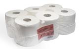 Toaletní papír ALFA TOP-S, pr.190, 12 rolí, celulóza, 2 vrstvy, bílý
