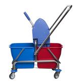 21001c   Úklidový vozík vědro 2x17 l - bez košíku