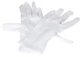 Rukavice textilní KITE, velikost 9, bílé