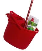 Úklidová souprava STANDARD se ždímačem a kontejnerem (kbelík, ždímač, kontajner, mop, tyč)