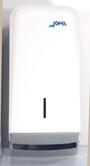 D2. Zásobník na toaletní papír skládaný, bílý (AH 70000)
