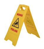 Výstražná cedule (Mokrá podlaha)