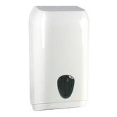 D2. Zásobník na toaletní papír skládaný, bílý