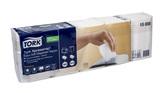 Papírové ubrousky  25x25cm, 2 vrstvy, celulóza, bílá, 30x100 ks