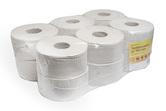 Toaletní papír ALFA TOP-S, pr.230, 6 rolí, celulóza, 2 vrstvy, bílý