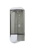 (P) Dávkovač tekutého mýdla - dolévací, 0,6 L, stříbrný s logem,911 Titanium